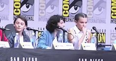 Finn Wolfhard and Millie Bobby Brown