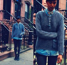 Bleachin Brooklyn (by Luna Nova) http://lookbook.nu/look/4172346-Bleachin-Brooklyn