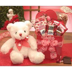 Be Mine Valentines Day Teddy Bear Gift Basket By Gift Baskets Etc | Valentineu0027s  Day Gift Ideas | Pinterest | Teddy Bear Gifts, Teddy Bear And Bears