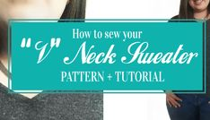 You can make a Blind Hem with Serger Machines? This technique is a super clean way to finish the hems of all your knit sewing projects. Serger Stitches, Serger Thread, Sewing Tutorials, Sewing Projects, Sewing Patterns, Cool Sweaters, Learn To Sew, Sewing Techniques, Body Shapes