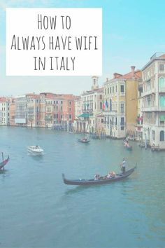 How to ALWAYS have wifi in Italy - our secret trick to always get cheap and reliable wifi everywhere in Italy and stay connected all over Europe!