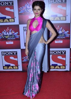 Rubina Dilaik at the SAB Ke Anokhe Awards ceremony. #Bollywood #Fashion #Style #Beauty