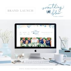 Our new website is live NOW! www.somethingblueflorals.com