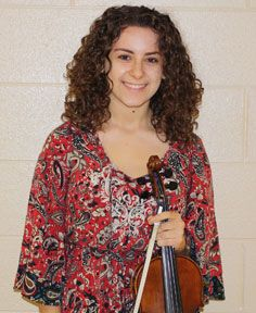 Hannah Ritz, a junior violinist in the Goshen High School orchestra, was selected to participate in the New York State School Music Association (NYSSMA) All-State Orchestra.