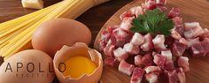 carbonara Par Giovanni Apollo Sauces, Eggs, Apollo, Breakfast, Food, Sweet Sauce, Rice, Pasta Carbonara, Pasta