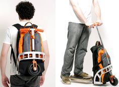 Spicytec: Gig Pack - Backpack Scooter