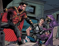 Tim Drake Batman and Robin Eternal