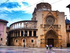 Catedral de Valencia, Plaza de la Virgen (Valencia - Spain… | Flickr - Photo Sharing!