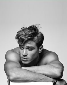 "brianjamie: "" Matthew Noszka, Wilhelmina Photo by brianjamie """