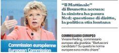 """Informazione Contro!: L'Europa gela Berlusconi """"Lui candidato? Le nostre..."""