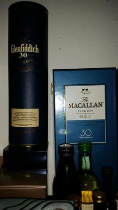 One of the best Single Malt Scotch Whiskys for me. Glenfiddich 30 years old Scotch Whisky and Macallan Fine Oak 30 years old Scotch Whisky