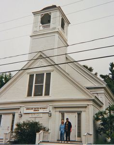 The old family church on Chebeague Island, Maine