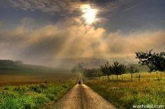 keindahan alam: most beautiful nature photos Beautiful Photos Of Nature, Beautiful Roads, Beautiful Nature Wallpaper, Beautiful Streets, Nature Images, Nature Pictures, Beautiful Images, Foto Nature, Ciel