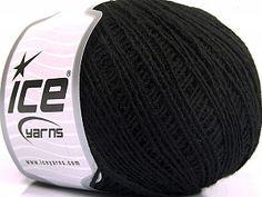 Peru Alpaca Fine Black  Fiber Content 50% Merino Wool, 25% Acrylic, 25% Alpaca, Brand Ice Yarns, Black, Yarn Thickness 2 Fine  Sport, Baby, fnt2-55145 Ice Yarns, Online Yarn Store, Crochet Toys, Peru, Merino Wool, Fiber, Content, Black, Turkey
