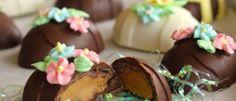 Homemade Easter Peanut Butter Eggs! Yumo! #easter