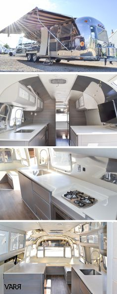 99 Best Hacks, Remodel And Makeover Airstream Trailers - Airstream Travel Trailers, Airstream Living, Airstream Remodel, Airstream Interior, Trailer Interior, Vintage Airstream, Camper Renovation, Vintage Travel Trailers, Camper Trailers