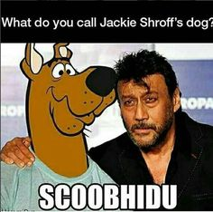 What do you call jackie shroff's dog 😂😂🤣🤣#funny #comedy #jokes