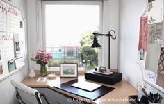 classic • casual • home: Ten Tips to Make the Most of Your Office
