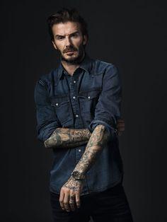 cool David Beckham Announced As New Tudor Ambassador