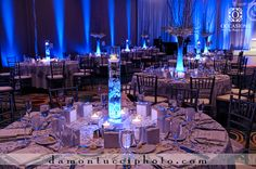 With petals, this would be great.   Reception & Wedding Centerpieces | Occasions by Shangril-La