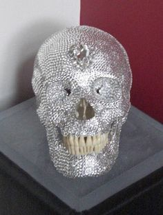 Swarovski Skull (homage to Damien Hirst skull)