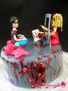 cake zombie - tarta zombie