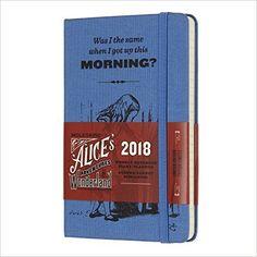 Moleskine Limited Edition Alice in Wonderland, 12 Month Weekly Planner, Pocket, Blue (3.5 x 5.5): Moleskine: 8055002855426: Books - Amazon.ca
