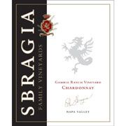 Sbragia Gamble Ranch Chardonnay 2013 from Napa Valley, California - Gamble Ranch produces grapes that can stand up to the style of Chardonnay that is big, bold and gutsy, but never out of ...