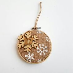 Check out this item in my Etsy shop https://www.etsy.com/listing/478642378/embroidery-hoop-christmas-ornament
