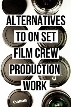 How to get into the entertainment industry| Alternatives to film crew production work | film work | filmmaking | freelancing