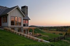Blending Traditional New England Architecture with Modern Design: Skyfall Residence - http://freshome.com/new-england-architecture-skyfall-residence/