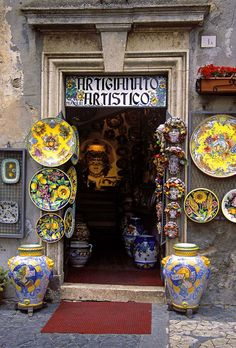 The Orvieto Artisan Shop in Tuscany, Italy.  If its name is based on the town that it comes from then Orvieto is a city and comune in Province of Terni, southwestern Umbria, Italy