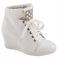 Sneakers de dama albi A-63A - Reducere 58% - Zibra