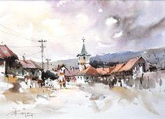 Galerie de acuarelă Corneliu Drăgan-Târgovişte   http://artportfolio.ro
