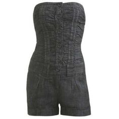 Arden B Denim Romper Great used condition .. Worn a few times.. Has pockets in front and pack., button up and zip up at shorts .. The back pockets are false ., just for show the front to pockets are false as well.. The front hand pockets are real.. The first pic is to show what it looks like.. It's a similar one as the one I'm selling. Arden B Shorts