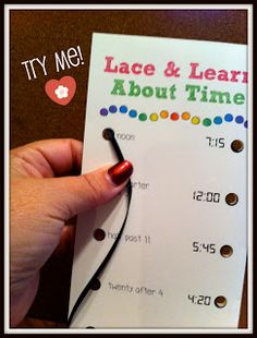 Sunny Days in Second Grade: Free lace and learn activities