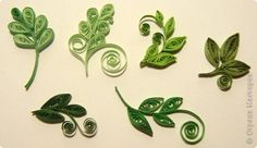 ** Quilling listy **
