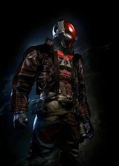 Red Hood concept Arkham Knight