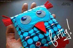Cantinho craft da Nana: bolsinha coruja