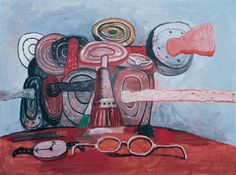 As It Goes, 1978 Philip Guston http://www.pinterest.com/bussfuzz/philip-guston/