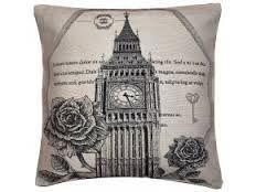 Black and White Vintage Big Ben Cushion Modern Cushions, Goblin, Big Ben, Decorative Pillows, Throw Pillows, Black And White, Vintage, Collection, Grief