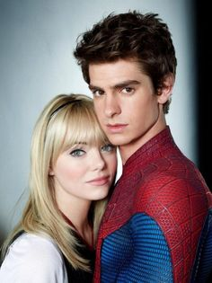 """The director of """"The Amazing Spider-Man,"""" Marc Webb, recalled that Emma Stone's natural chemistry with Andrew Garfield actually led to her being cast as Gwen Stacy in the superhero adaptation. Description from screen.answers.com. I searched for this on bing.com/images"""