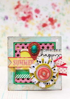 Crate Paper Mini Album :: The Pier Collection - Christine Middlecamp