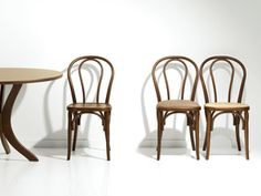 Replica Thonet Bentwood Chair - Brown by Stools & Chairs Online Store Cafe Chairs, Dining Chairs, Furniture Chairs, Colorful Restaurant, Timber Table, Modern Cafe, Bentwood Chairs, Stool Chair, Restaurant Furniture