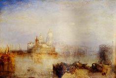 Turner and Venice  J.M.W. Turner The Dogana and Madonna della Salute, Venice 1843 oil on canvas 63 x 83 in.
