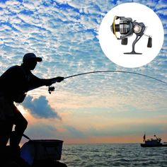 13BB 12+1 Ball Bearings Left/Right Interchangeable Collapsible Double Handles Fishing Wheel Spinning Reel 5.2:1