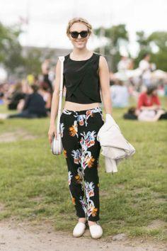AnnaSophia Robb - Governors Ball Street Style - Festival Fashion