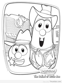 veggie tales coloring book pages.html