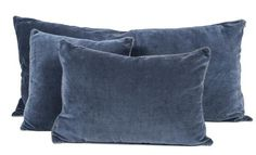 8 coloris disponibles - Harmony - Housse de coussin en velours Delhi - 40x60 cm - Home Beddings and Curtains