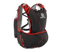 MOCHILA SALOMON S-LAB ADVANCED SKIN3 12SET NEGRO/ROJO